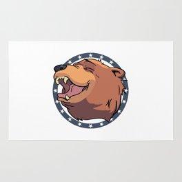 Cheeseburger! The bear in Far Cry 5 - FANG Center Rug
