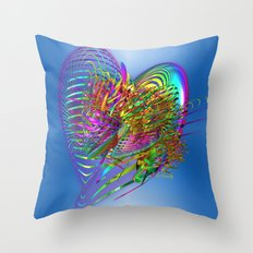 A Gift of Love Throw Pillow