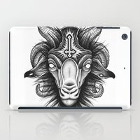 goat iPad Cases featuring Goat by Alexander Kukinov