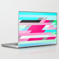 flag Laptop & iPad Skins featuring Flag by allan redd
