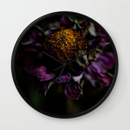Even in Death There is Beauty Wall Clock