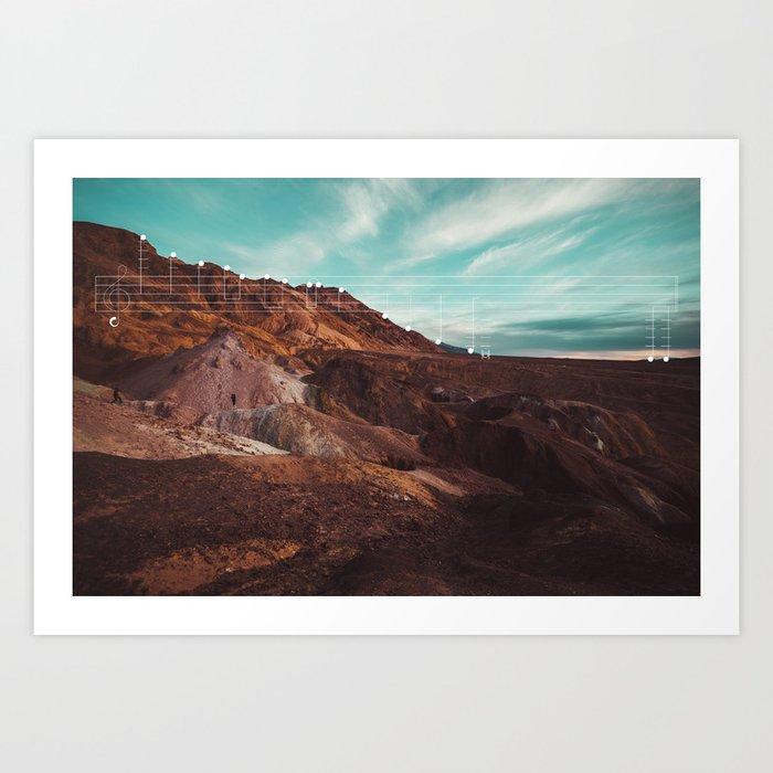 Mountain Melodies - 09 Art Print