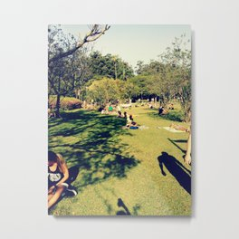 Park - Sao Paulo Metal Print