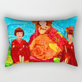 JAPANESE GIRLS Rectangular Pillow