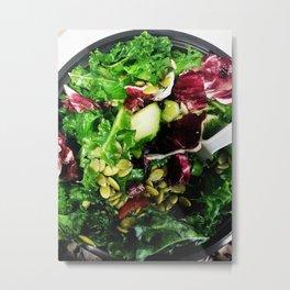 Greens Are Good Metal Print