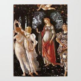 Primavera Painting by Sandro Botticelli Poster