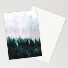 Deep dark forests Stationery Cards