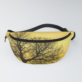 A glow over Sheriff Hutton Fanny Pack