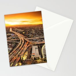los angeles junction Stationery Cards