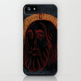 The Compassionate Christ iPhone Case