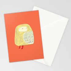 Cute Owl. owl art, owl illustration, owl print, owl decor, nature, Stationery Cards