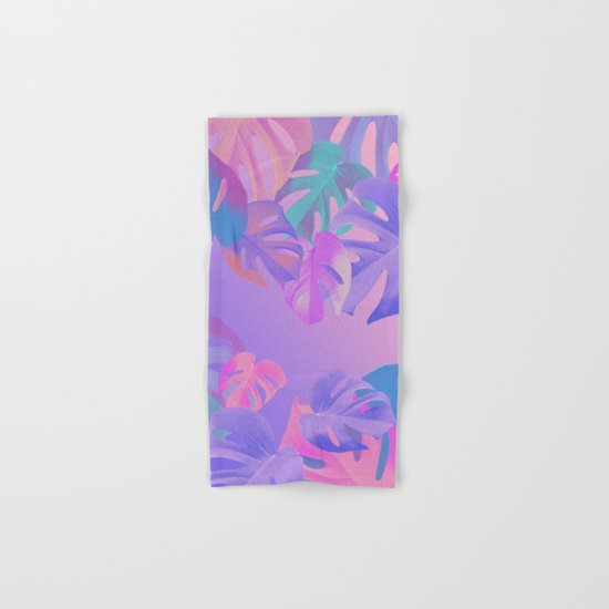 Monstera multi Hand & Bath Towel