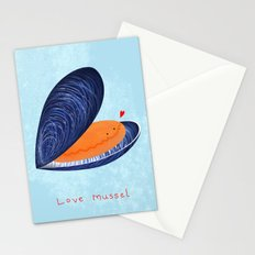 Love Mussel Stationery Cards