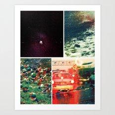 florida noir 002 Art Print