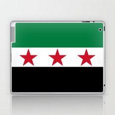 Independence flag of Syria Laptop & iPad Skin