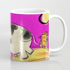 Cow - magenta Mug
