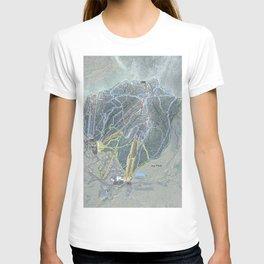 Jay Peak Resort Trail Map T-shirt