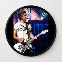 niall Wall Clocks featuring Niall by clevernessofyou