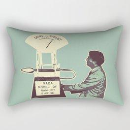 Thrust Rectangular Pillow
