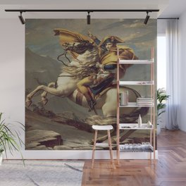 Jacques-Louis David's Napoleon Crossing the Alps Wall Mural