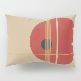 Geometric Abstract Art #3 Pillow Sham