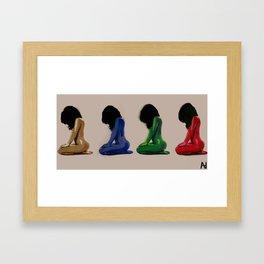 Complexion Framed Art Print