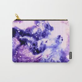Violet Purple Galaxy Africa Carry-All Pouch
