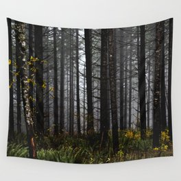 PNW Forest Adventure II - Nature Photography Wall Tapestry