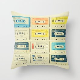 All Tomorrow's Parties Throw Pillow
