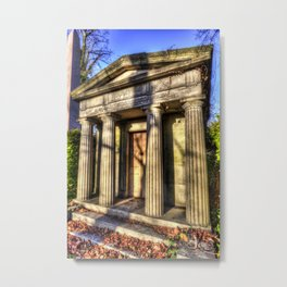 Kensal Green Mausoleum Metal Print