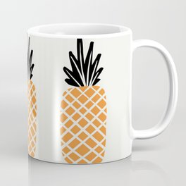 Three Pineapples Coffee Mug