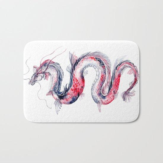 Koi Dragon Bath Mat