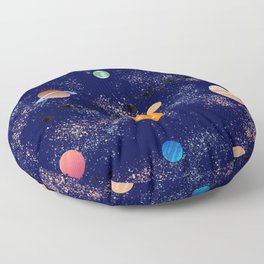 Space Theme Floor Pillow