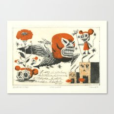 Niño Burro Canvas Print