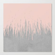 Concrete Fringe Dogwood Canvas Print