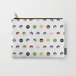 Cute Pokeball Pattern Carry-All Pouch