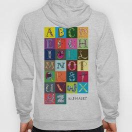 Hand Drawn Alphabet Hoody