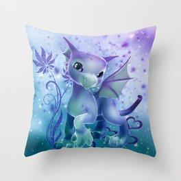 Cuddle Me Dragon Throw Pillow