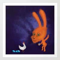 easter Art Prints featuring easter by Laurel
