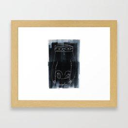 Slothful Monday Framed Art Print