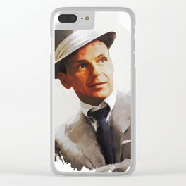Frank Sinatra, Actor, Singer Clear iPhone Case