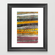 Dusk. Framed Art Print