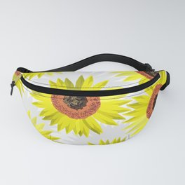 Sunflowers wb Fanny Pack
