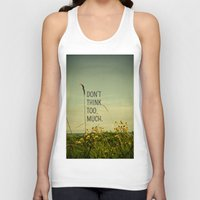 cabin Tank Tops featuring Travel Like A Bird Without a Care by Olivia Joy StClaire