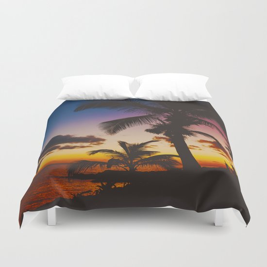 Palm Spring Duvet Cover