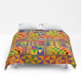 Kente Inspired Comforters