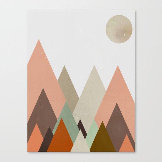 nova moon  Canvas Print