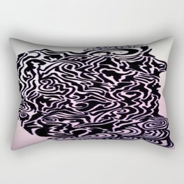 Eureka! Ink Doodle Rectangular Pillow