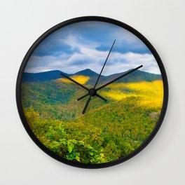 Triple Peaks Wall Clock