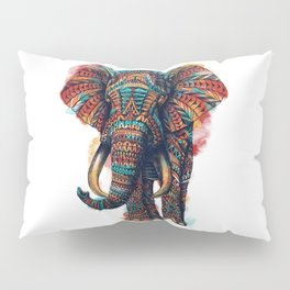 Ornate Elephant (Watercolor) Pillow Sham